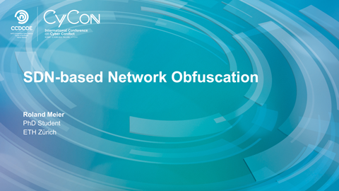 SDN-based Network Obfuscation